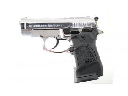 Plynová pistole Atak Zoraki 914 auto steel cal.9mm