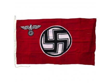 flag german reich service cotton