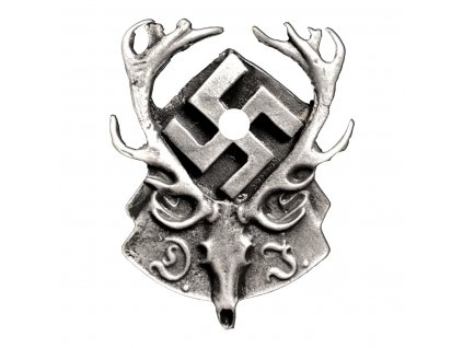 german hunting association badge type 2