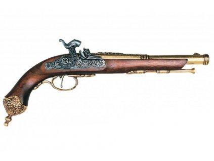 denix Percussion pistol Brescia Italia 1825 (1)