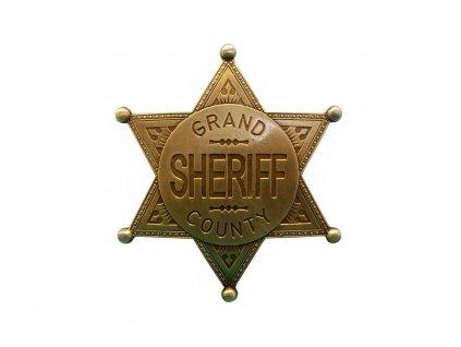 Odznak šerifa okresu Grand