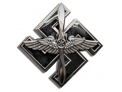 sassdlv flieger pilot s badge