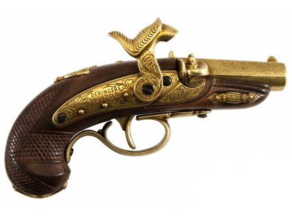 denix Percussion Philadelphia Deringer pistol USA 1862