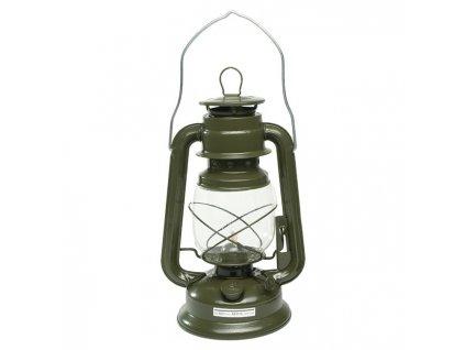 Lampa petrolejová 28 cm ZELENÁ