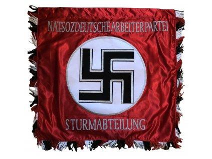 Vlajka Nat-soz Deutsche Sturmabteilung - ruční výroba