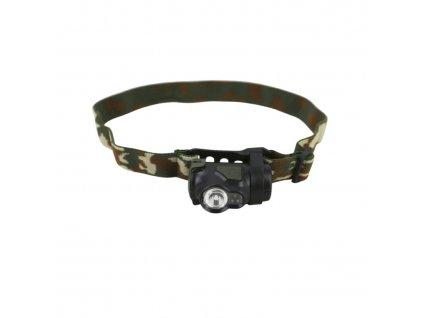Čelovka PREDATOR CREE 3W maskovaný pásek