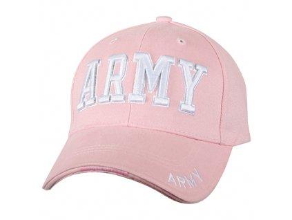 Čepice dámská baseball ARMY RŮŽOVÁ