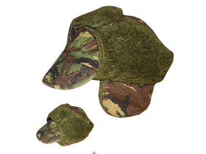 Čepice s kšiltem zimní britská DPM TARN použitá