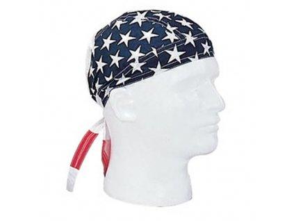Šátek HEADWRAP vlajka USA