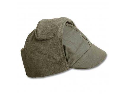 Čepice s kšiltem BW zimní ZELENÁ