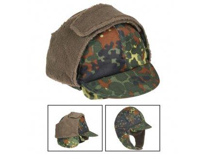 Čepice s kšiltem BW zimní FLECKTARN