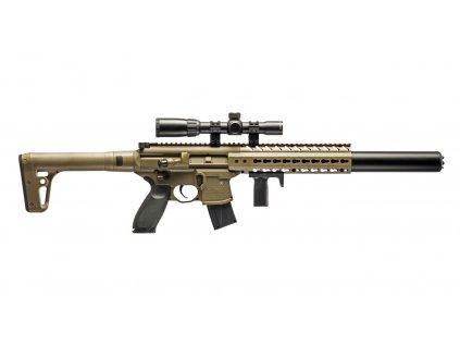 Vzduchovka Sig Sauer MCX FDE 4,5mm s puškohledem