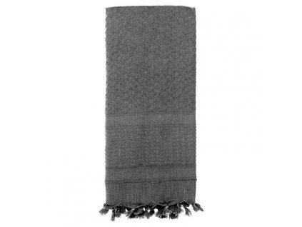 Šátek SHEMAGH SOLID 107 x 107 cm ŠEDÝ