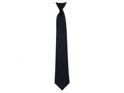 Kravata POLICE ČERNÁ 45 cm