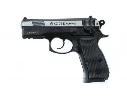 Pistole vzduchová ASG CZ-75 D Compact Dual tone - BB steel
