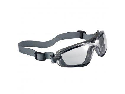 Brýle ochranné COBRA TPR Platinum® ČIRÉ