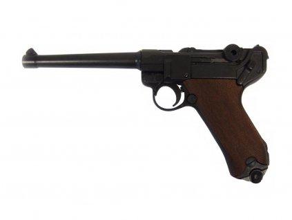Pistole Parabellum Luger P.08, Německo 1898 (dřevěné střenky)
