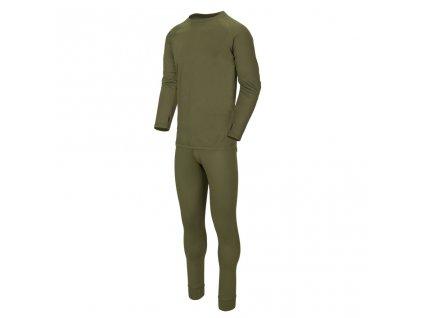 Komplet spodky a triko funkční LEVEL 1 ZELENÉ