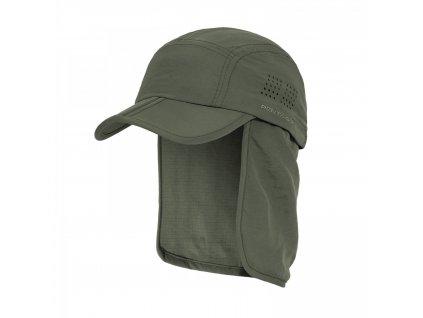Čepice s chráničem krku KALAHARI ZELENÁ
