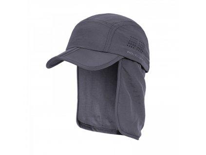 Čepice s chráničem krku KALAHARI ŠEDÁ