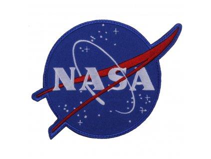 Nášivka NASA na suchém zipu velcro