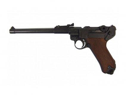Pistole Luger P.08, Německo 1917 (dřevěné střenky)