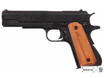 Automatická pistole M 1911A1 - plně rozebratelná - 2.verze