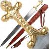 Keltský dlouhý meč Bogart s pochvou