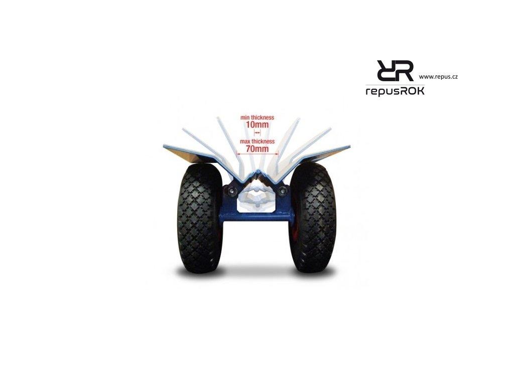 drobna manipulacni technika transportni vozik 250 repusROK