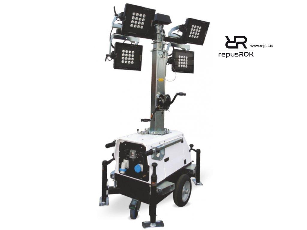 osvětlovací věž Linktower T4 LED repusROK