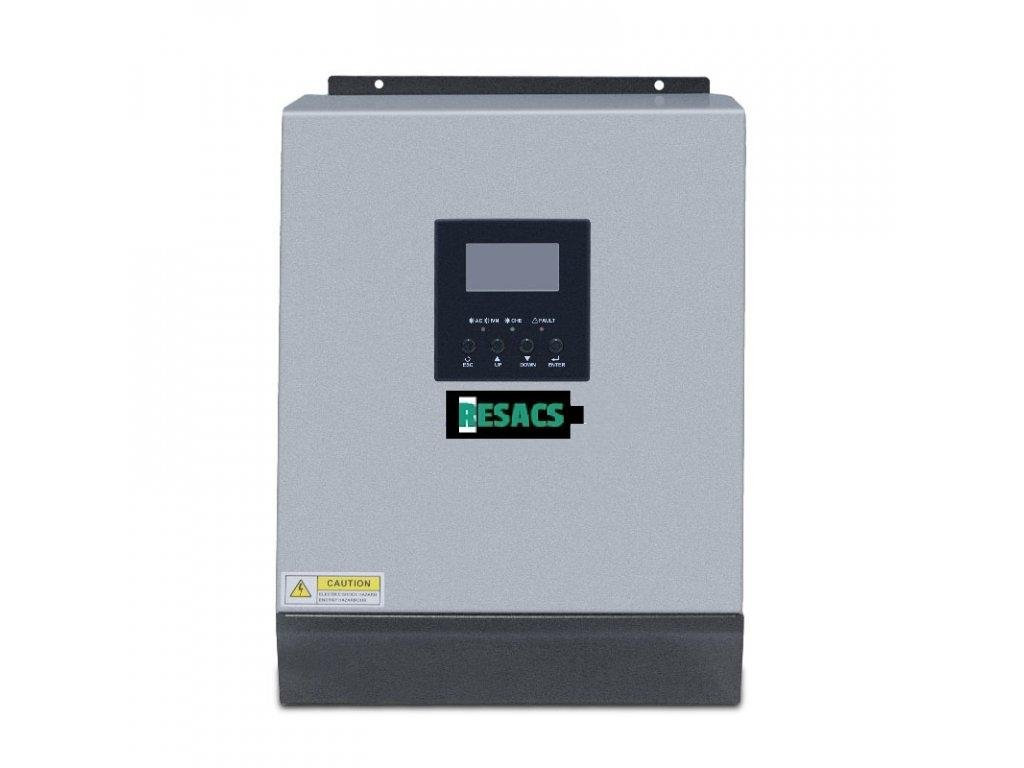 Solární střídač / měnič Resacs ISolar SPL 4KW 48Vbat 90Vsol PWM