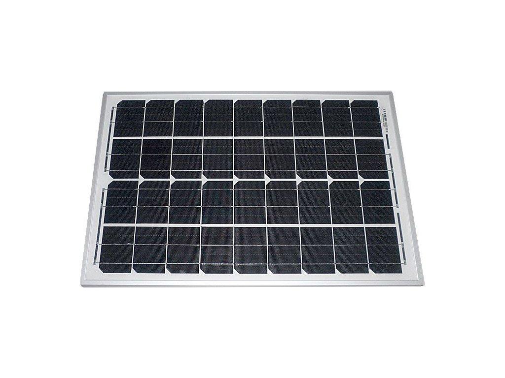 Fotovoltaický solární panel 12V/30W monokrystalický 1