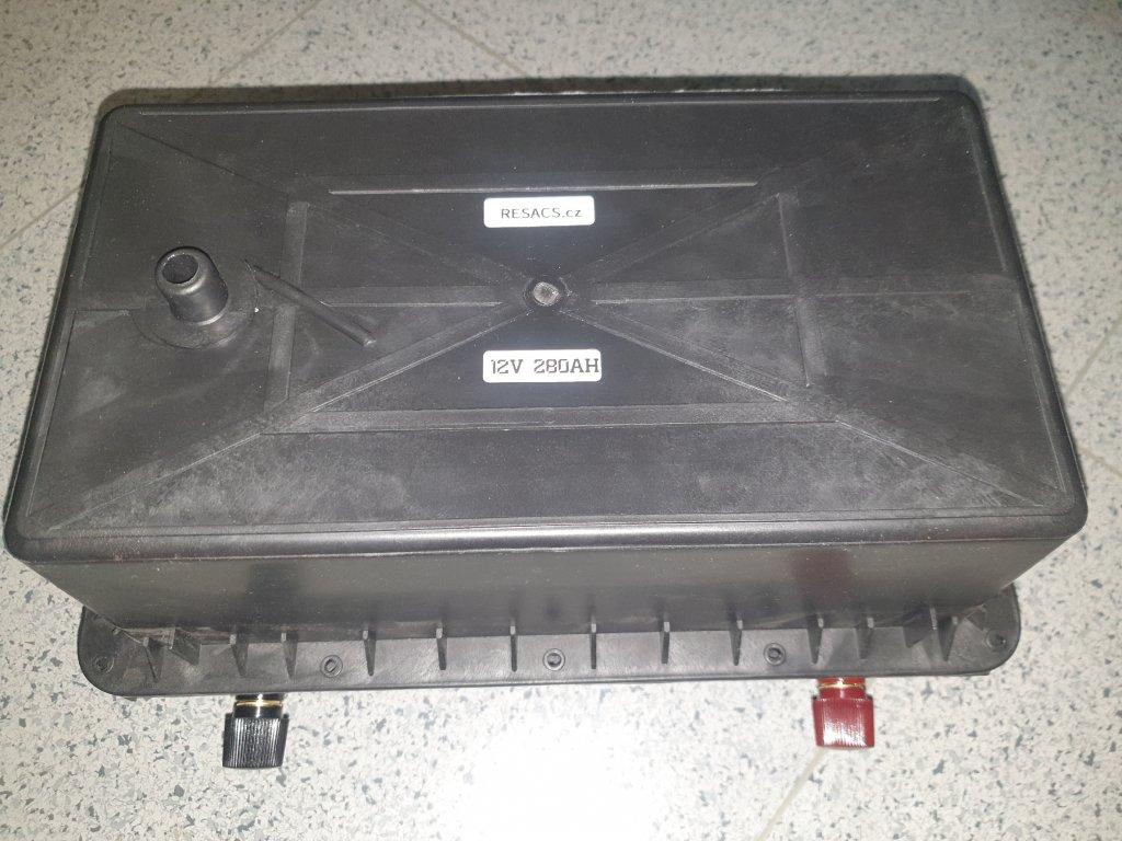 Baterie LiFePO4 12V 280Ah s Bluetooth BMS 150A