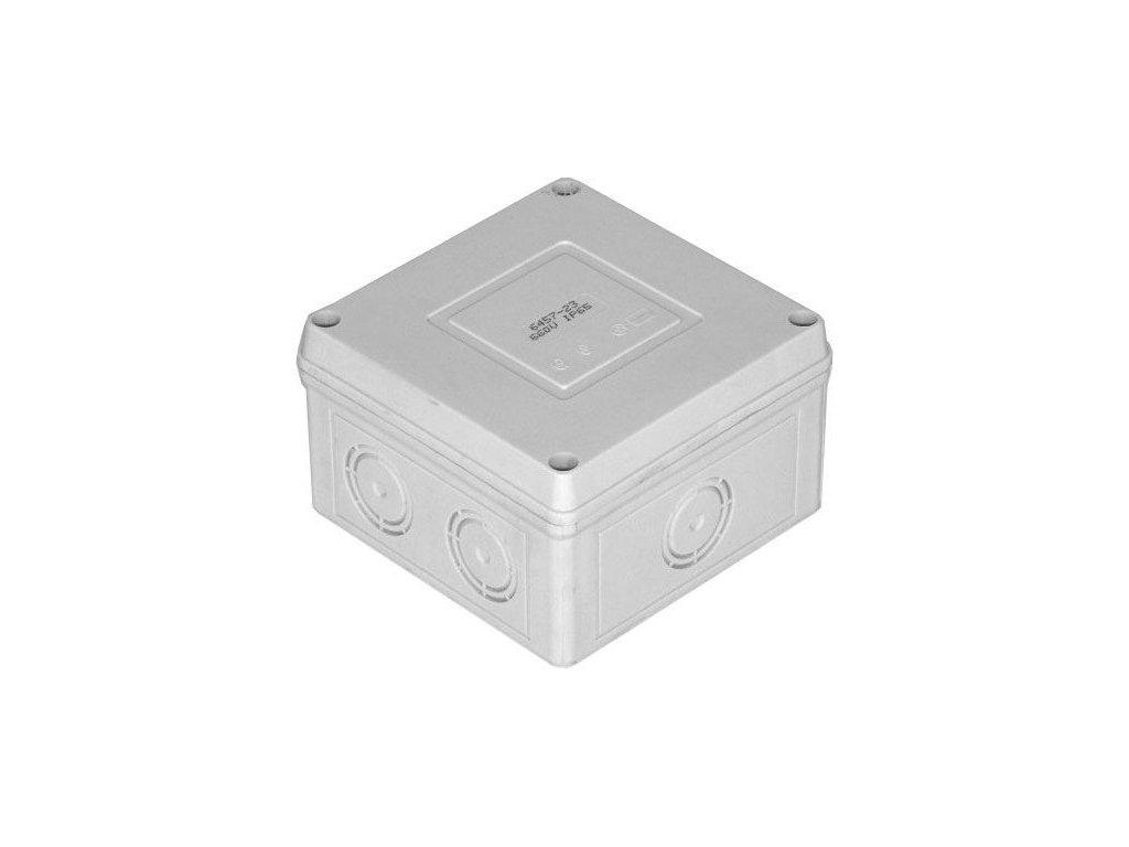 Krabice rozvodná 6457-19 SEZ 89x89x56mm