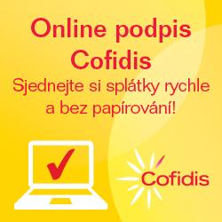 Cofidis - splátkový prodej