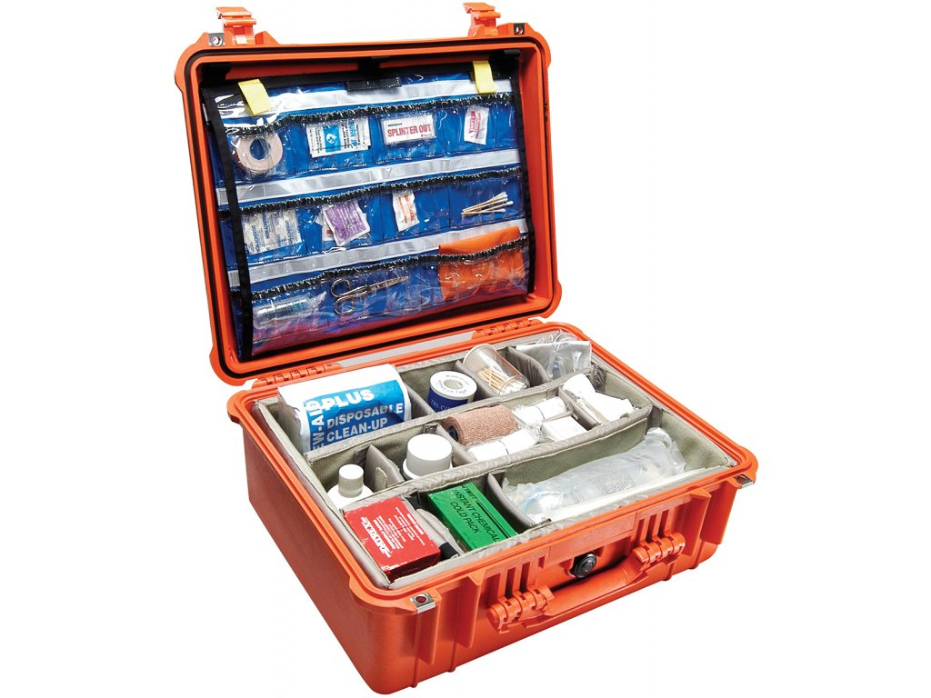 pelican medical emt first aid case