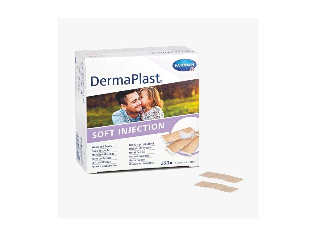 dermaplast soft injection plaster 4x16cm 250 piece
