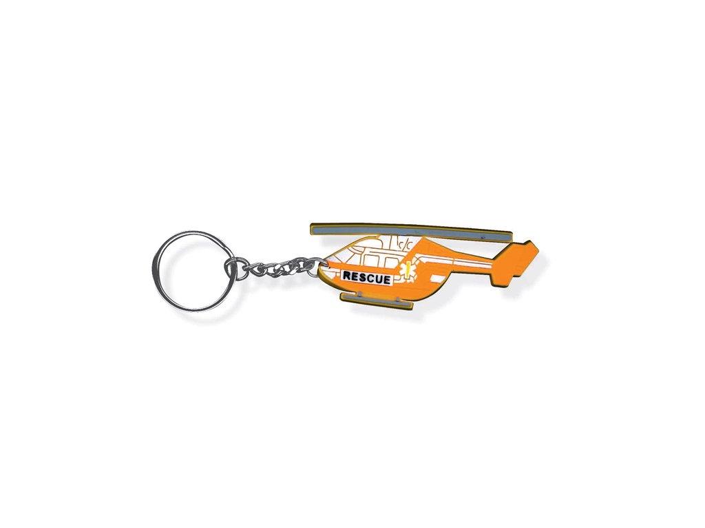 Přívěsek na klíče - Helicopter