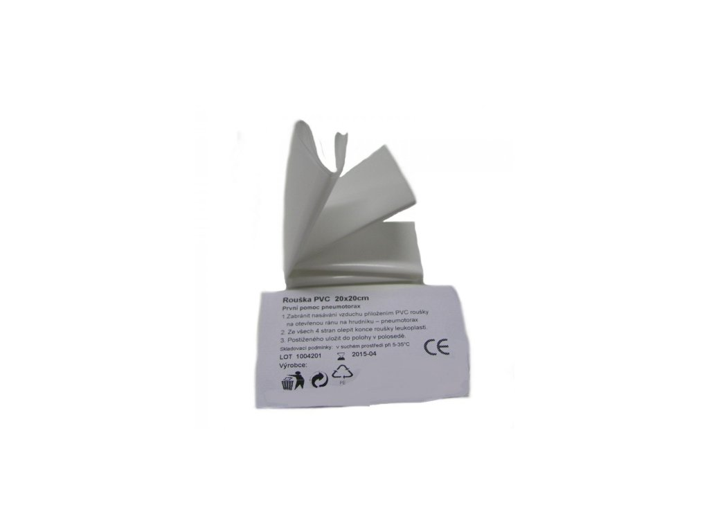 Rouška PVC 20x20cm