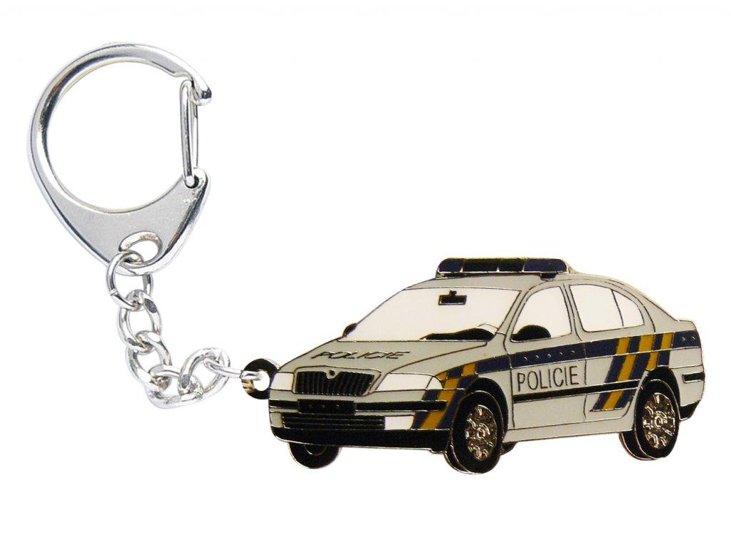 přívěšek octavia policie