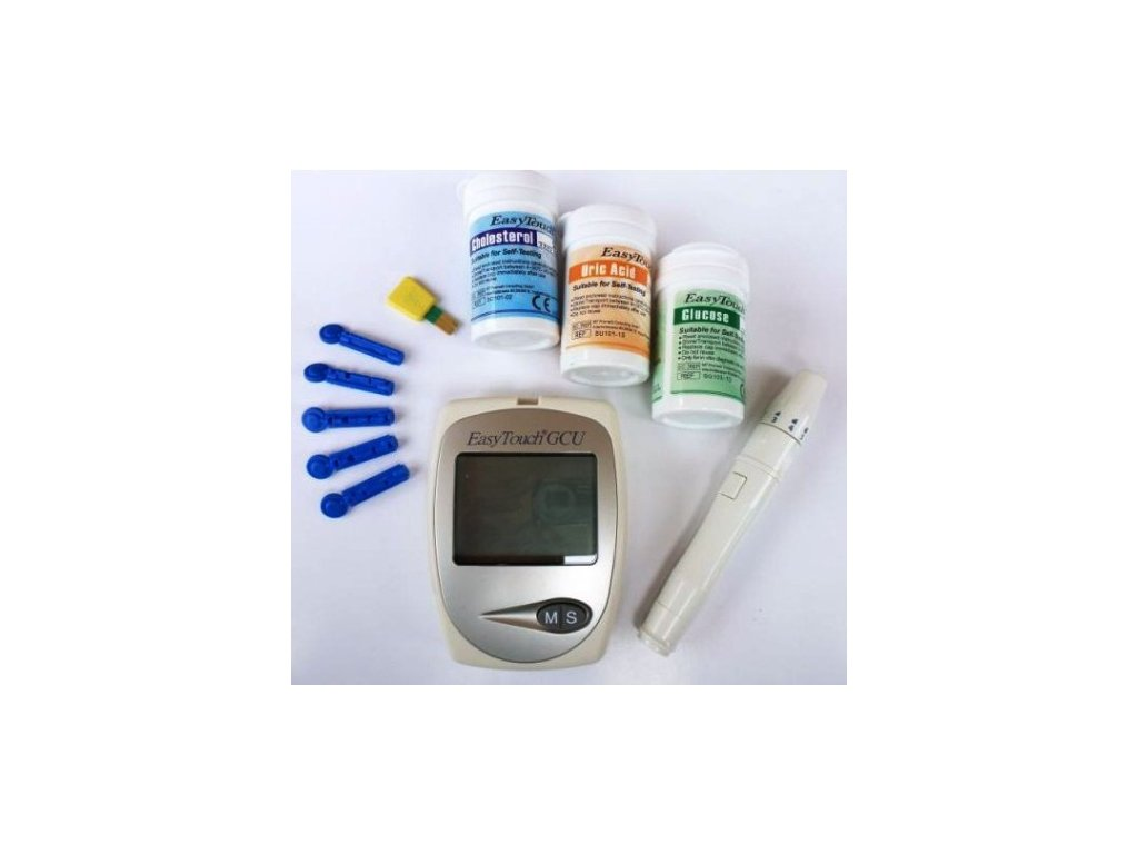 Cholesterolmetr - Glukometr EasyTouch 3 v 1