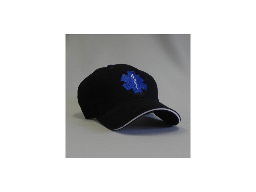 Kšiltovka - hvězda života - tmavě modrá