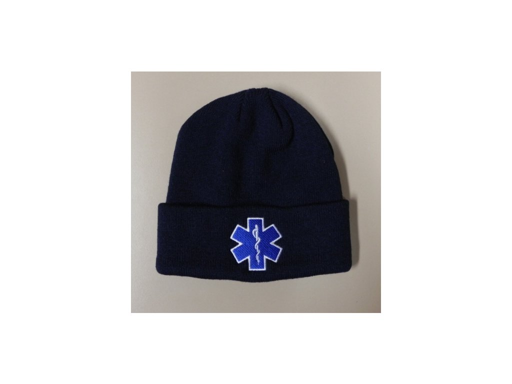 Čepice kulich - hvězda života - tmavě modrá