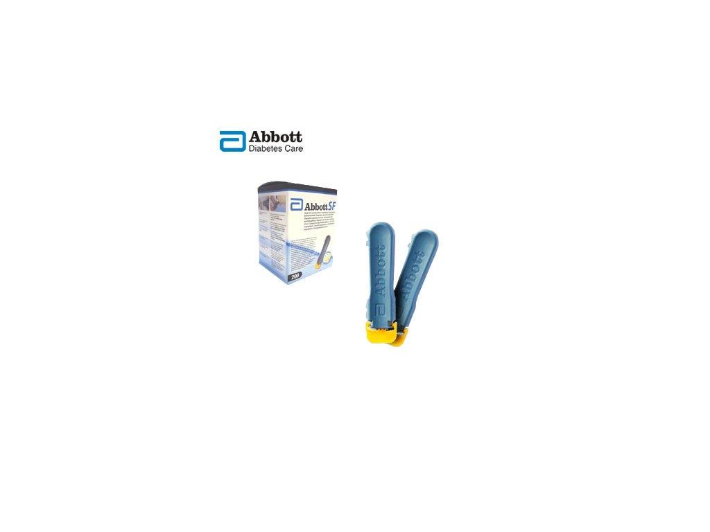 Bezpečnostní odběrová lanceta - Abbott Single Fire™