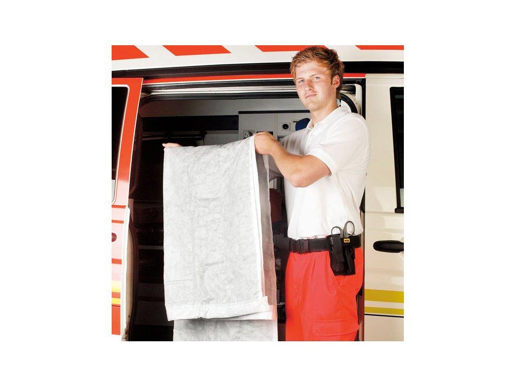 Jednorázová deka - bílá - 190gr