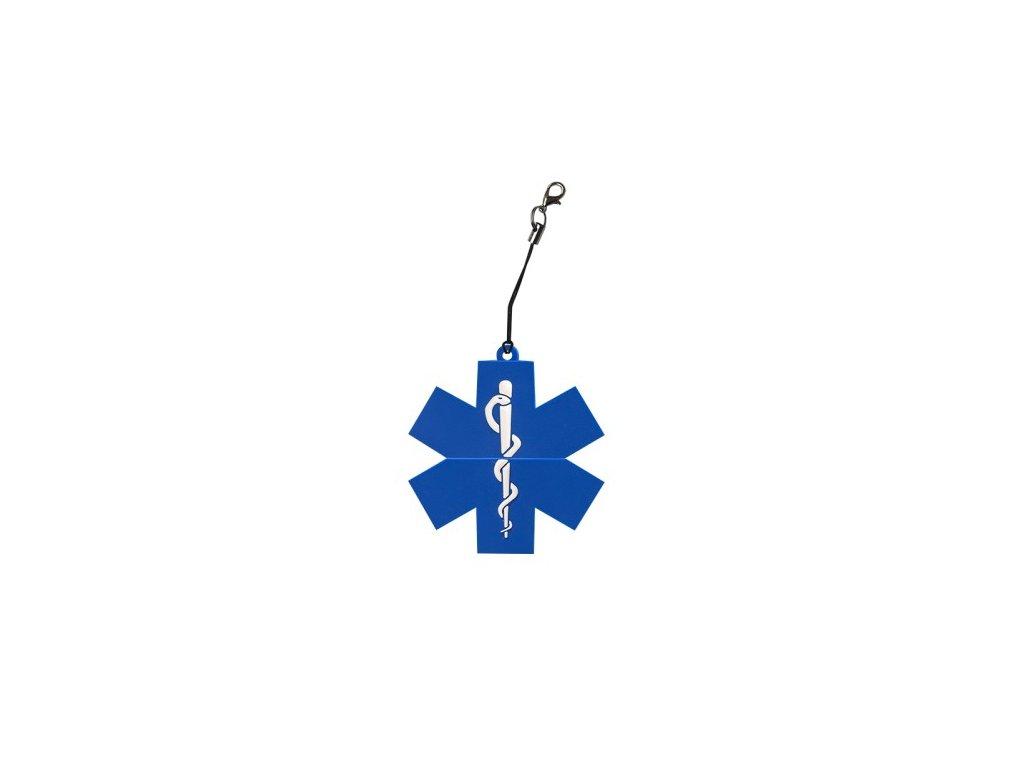 USB přívěsek - Modrá hvězda