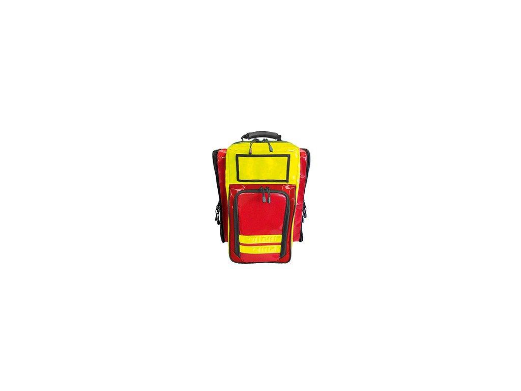 Záchranářský batoh - basic pro - červeno/žlutý