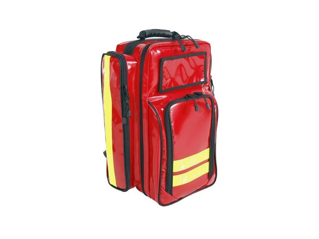 Záchranářský batoh - basic pro - červený