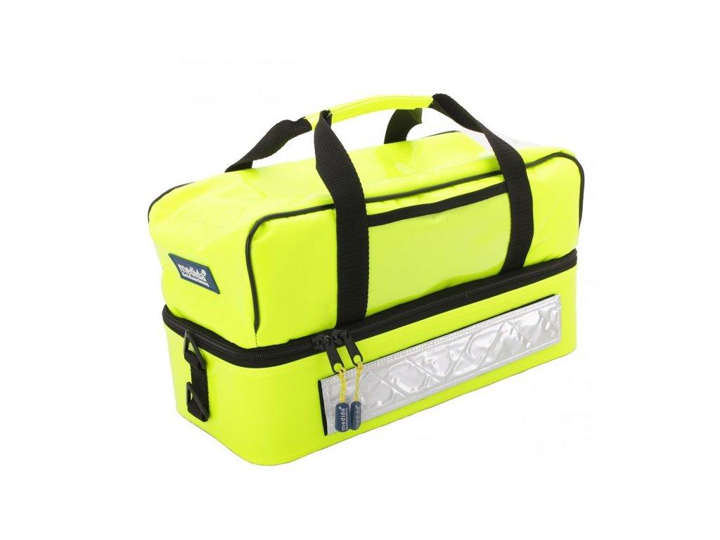 Záchranářská brašna - mini rescuebag plus - reflexní žlutá
