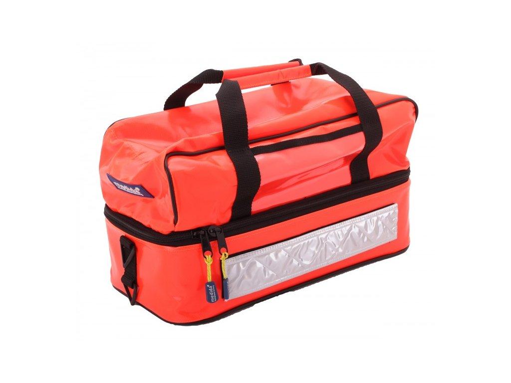 Záchranářská brašna - mini rescuebag plus - reflexní oranžová